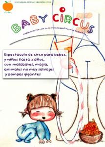 BABY CIRCUS. TEATRO PARA BEBÉS