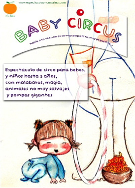 babycircus Teatro para bebés