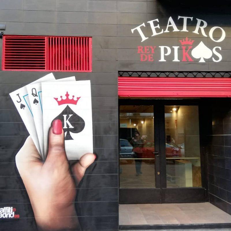 Teatro Rey de Pikas de Leganés