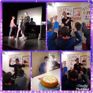 Celebración de cumpleaños con Samuel Pons