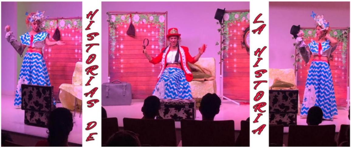 Historias de la Historia Obra de teatro infantil